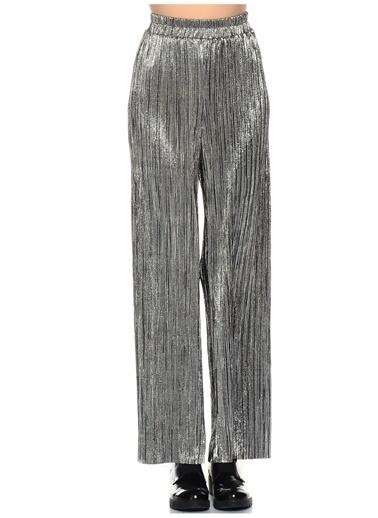 Vero Moda Pantolon Gümüş
